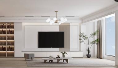 豪华型140平米三室两厅新古典风格客厅装修案例