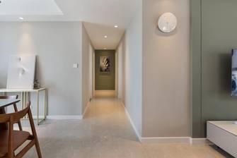 经济型120平米三室两厅现代简约风格走廊图片大全