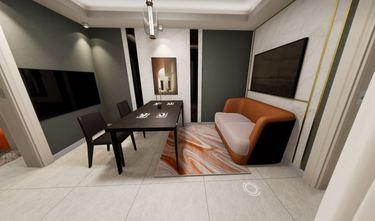 50平米轻奢风格客厅设计图