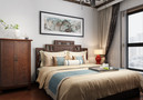 经济型140平米三中式风格卧室设计图