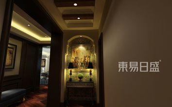 20万以上140平米三室两厅美式风格玄关装修图片大全