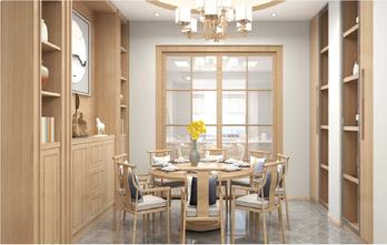 5-10万60平米一居室中式风格餐厅效果图