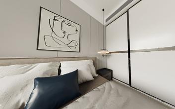 15-20万90平米三室两厅轻奢风格卧室装修案例