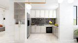 15-20万130平米三室两厅法式风格厨房效果图