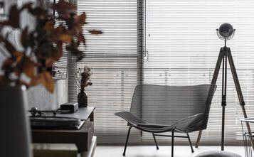 富裕型110平米三混搭风格客厅图