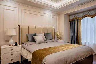140平米四室一厅轻奢风格卧室图片大全