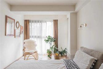 100平米三室一厅日式风格卧室图