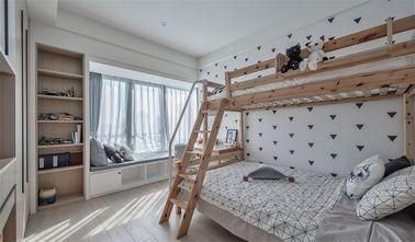 15-20万120平米三室一厅北欧风格青少年房图