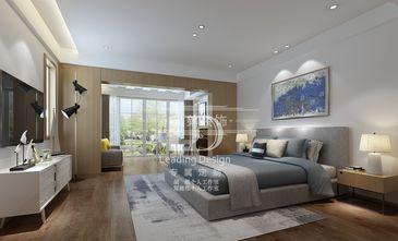 130平米别墅北欧风格卧室装修图片大全