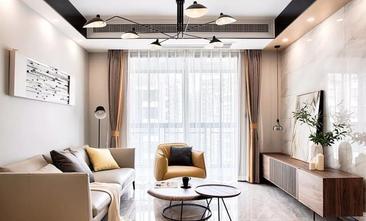 经济型80平米三室两厅现代简约风格客厅图片