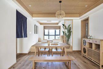 豪华型130平米三室一厅日式风格餐厅设计图