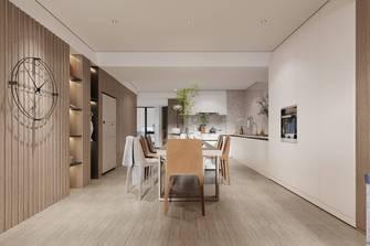 豪华型140平米三室两厅田园风格餐厅装修图片大全