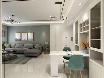 豪华型110平米三现代简约风格客厅图