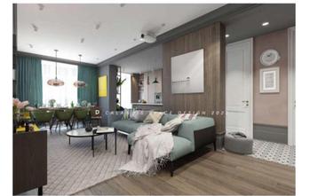 15-20万140平米三室两厅北欧风格客厅装修图片大全