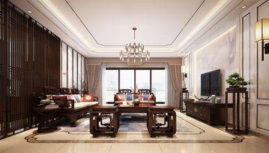 140平米复式中式风格客厅图片大全