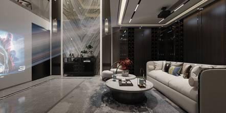 20万以上140平米四中式风格储藏室图
