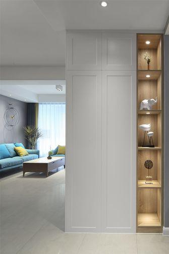 经济型60平米一室一厅北欧风格玄关装修案例