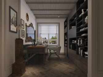 5-10万140平米四美式风格书房装修案例
