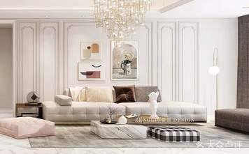 豪华型140平米四法式风格客厅设计图