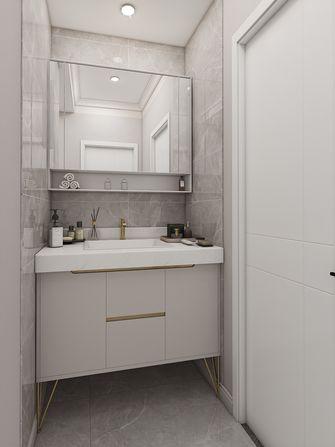 富裕型100平米四室两厅现代简约风格卫生间图