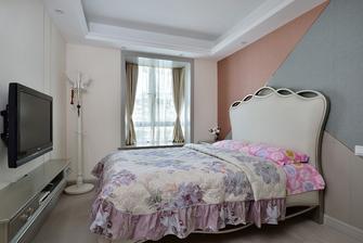 豪华型130平米三室两厅中式风格青少年房设计图