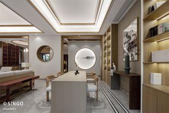 豪华型140平米别墅中式风格书房设计图