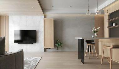 豪华型80平米三室两厅田园风格客厅装修案例