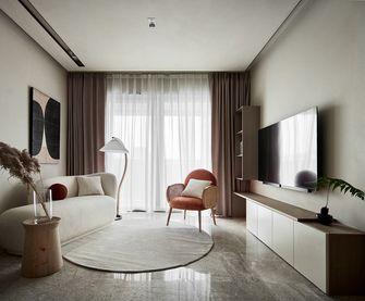 富裕型90平米三日式风格客厅图片大全