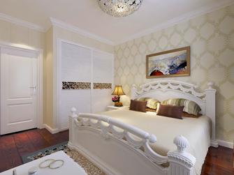 富裕型130平米三室两厅欧式风格卧室图片