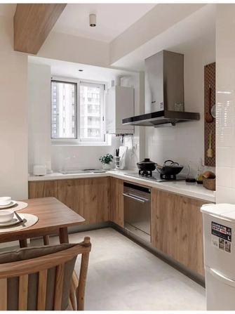 经济型90平米三室一厅北欧风格厨房效果图