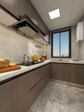 120平米一室两厅现代简约风格厨房图片大全
