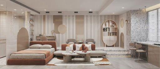 5-10万50平米一室两厅轻奢风格客厅装修案例