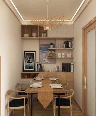 富裕型60平米一室一厅日式风格餐厅装修效果图