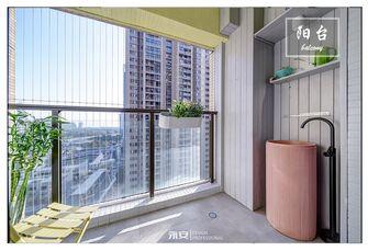 10-15万60平米混搭风格阳台设计图