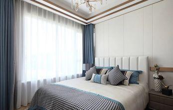 富裕型90平米三室一厅地中海风格卧室图片大全