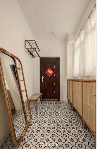 经济型90平米三室两厅公装风格玄关效果图
