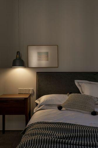 富裕型100平米三室两厅东南亚风格卧室图