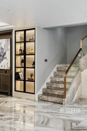 140平米别墅轻奢风格楼梯间图片