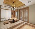 90平米一室一厅日式风格其他区域效果图
