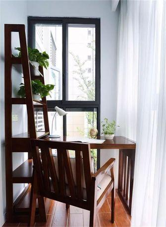 110平米三室两厅美式风格阳台图片