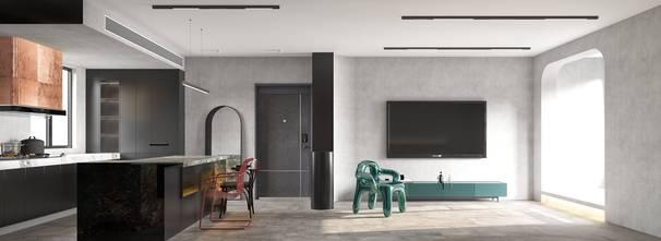 豪华型80平米混搭风格客厅图片