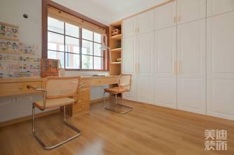 140平米四室两厅日式风格书房效果图