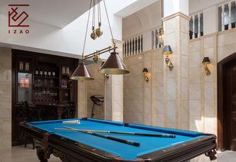 富裕型110平米别墅美式风格健身房装修图片大全