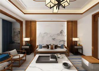 140平米四混搭风格客厅装修效果图