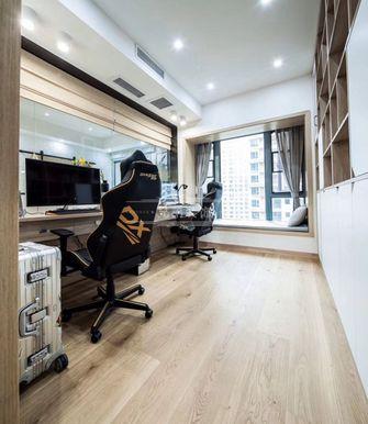 110平米三室两厅北欧风格影音室图片大全