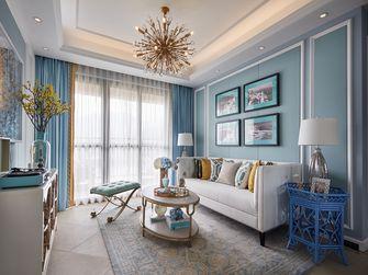 富裕型100平米三地中海风格客厅图片