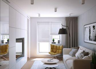 3-5万60平米公寓北欧风格客厅欣赏图