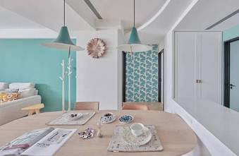 120平米四室两厅现代简约风格餐厅装修效果图