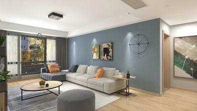 140平米三室两厅北欧风格客厅图片大全