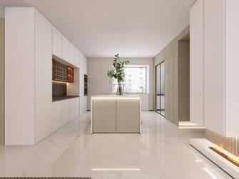 豪华型140平米三室两厅英伦风格厨房装修图片大全